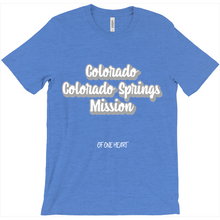 Load image into Gallery viewer, Colorado Colorado Springs Mission T-Shirt