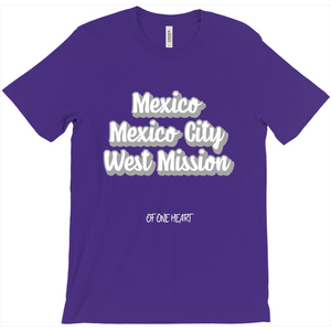 Mexico Mexico City West Mission T-Shirt
