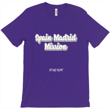 Load image into Gallery viewer, Spain Madrid Mission T-Shirt