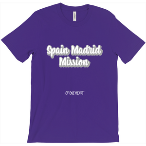 Spain Madrid Mission T-Shirt