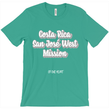 Load image into Gallery viewer, Costa Rica San José West Mission T-Shirt