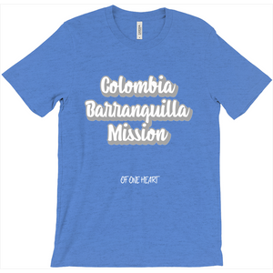 Colombia Barranquilla Mission T-Shirt