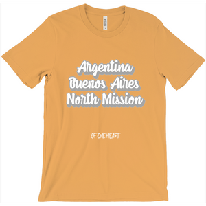 Argentina Buenos Aires North Mission T-Shirt