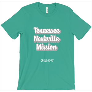 Tennessee Nashville Mission T-Shirt