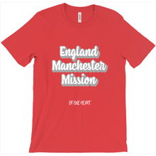 Load image into Gallery viewer, England Manchester Mission T-Shirt