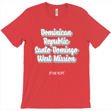 Load image into Gallery viewer, Dominican Republic Santo Domingo West Mission T-Shirt