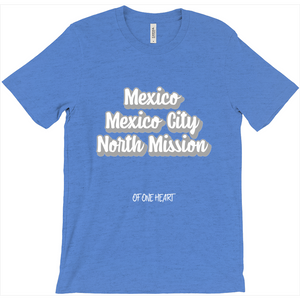 Mexico Mexico City North Mission T-Shirt