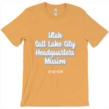 Load image into Gallery viewer, Utah Salt Lake City Headquarters Mission T-Shirt