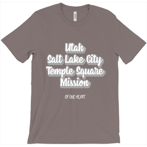Utah Salt Lake City Temple Square Mission T-Shirt