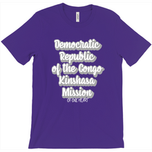 Load image into Gallery viewer, Democratic Republic of the Congo Kinshasa Mission T-Shirt