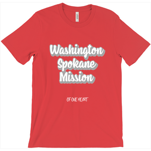 Washington Spokane Mission T-Shirt