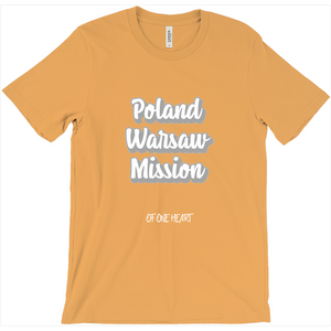 Poland Warsaw Mission T-Shirt