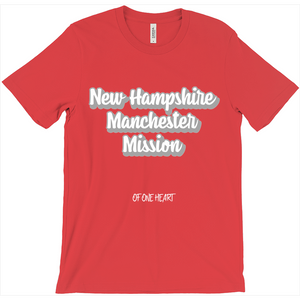 New Hampshire Manchester Mission T-Shirt