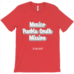 Mexico Puebla South Mission T-Shirt