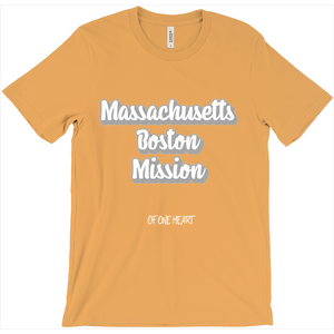Massachusetts Boston Mission T-Shirt