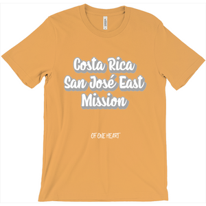 Costa Rica San José East Mission T-Shirt