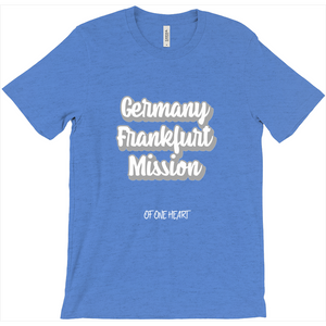 Germany Frankfurt Mission T-Shirt