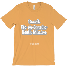 Load image into Gallery viewer, Brazil Rio de Janeiro North Mission T-Shirt