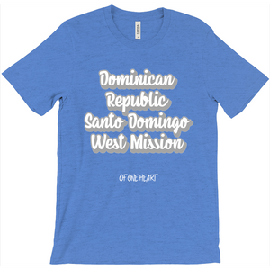 Dominican Republic Santo Domingo West Mission T-Shirt