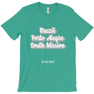 Brazil Porto Alegre South Mission T-Shirt