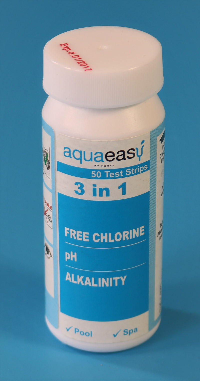 Aqua Easy 3 in 1 teststrips - Monotherm Webshop