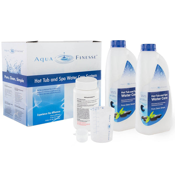 Aquafinesse Hot Tub (met tabletten) - Monotherm Webshop