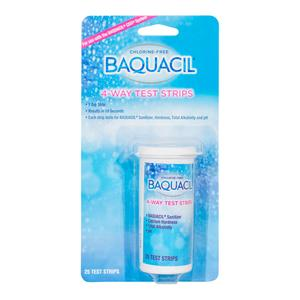Baquacil Test Strips 4-Way (25 Strips)