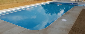 "Inground Pool Installed- Sport Constant 48"" Wall Height"