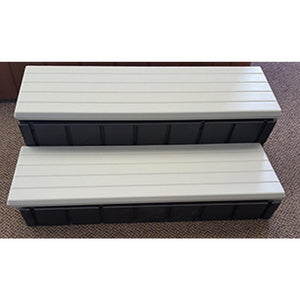 Confer Spa Step with Storage- Gray