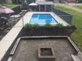 "Inground Pool Installed- Sport Pool Constant 48"" Wall Height"