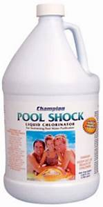 Liquid Chlorine (Shock)