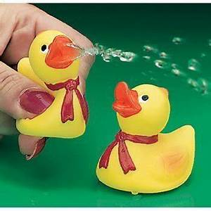 squirties Duck Toy