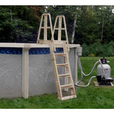 Above Ground Ladder A-Frame Slidelock