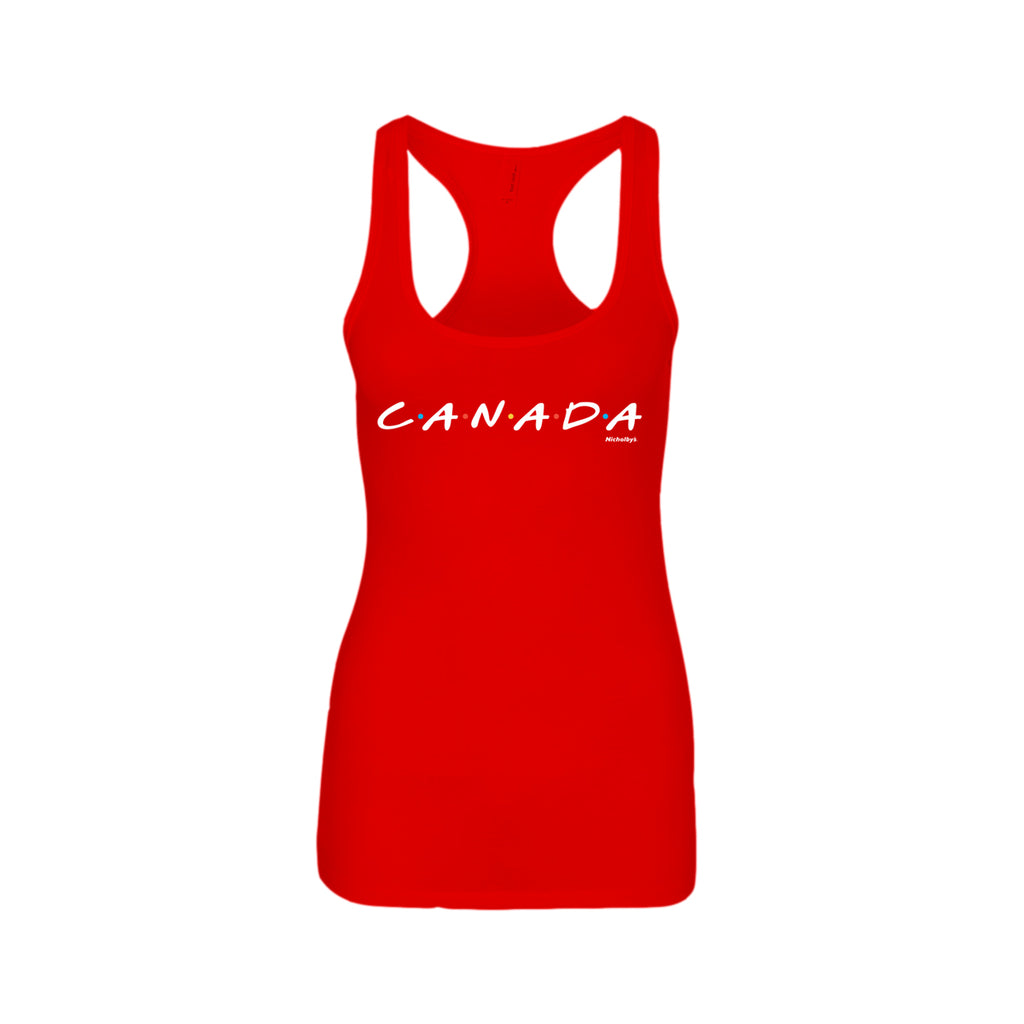 Ladies Red Tank top Canada