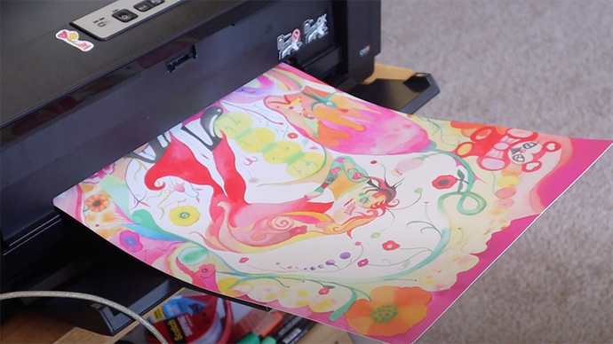 How to make art prints at home 🏠