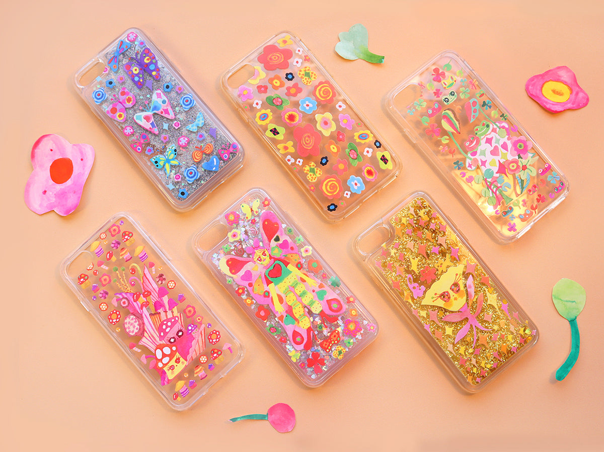 iPhone Cases Clear Designs by Haejinduck
