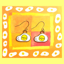 Load image into Gallery viewer, Sleepy Egg Earrings - haejinduck