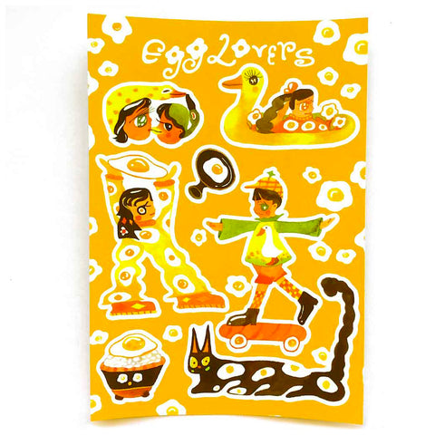 Egg Lovers Stickers