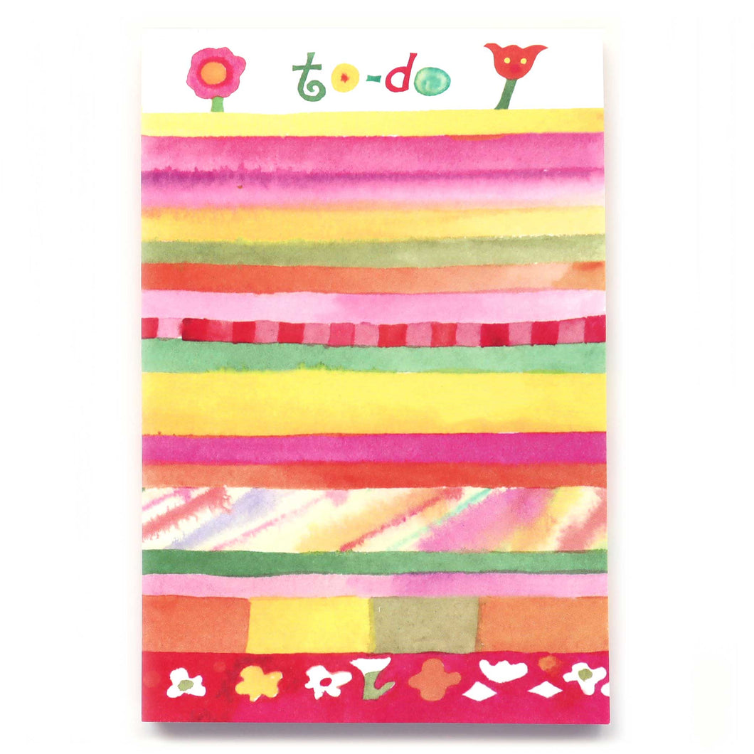 Cute notepads with colorful design