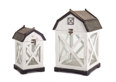 Set of two Barn lanterns - Annelisse's