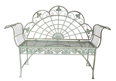 Decorative garden bench - Annelisse's