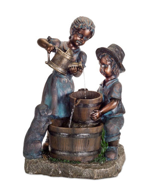 BOY AND GIRL FOUNTAIN - Annelisse's
