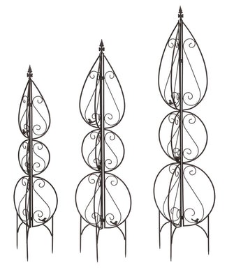 Decorative trellis set of 3 for garden - Annelisse's