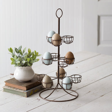 Vintage Egg tree, available 2/17/2021--Preorder - Annelisse's
