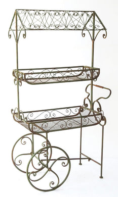 Metal flower cart - Annelisse's