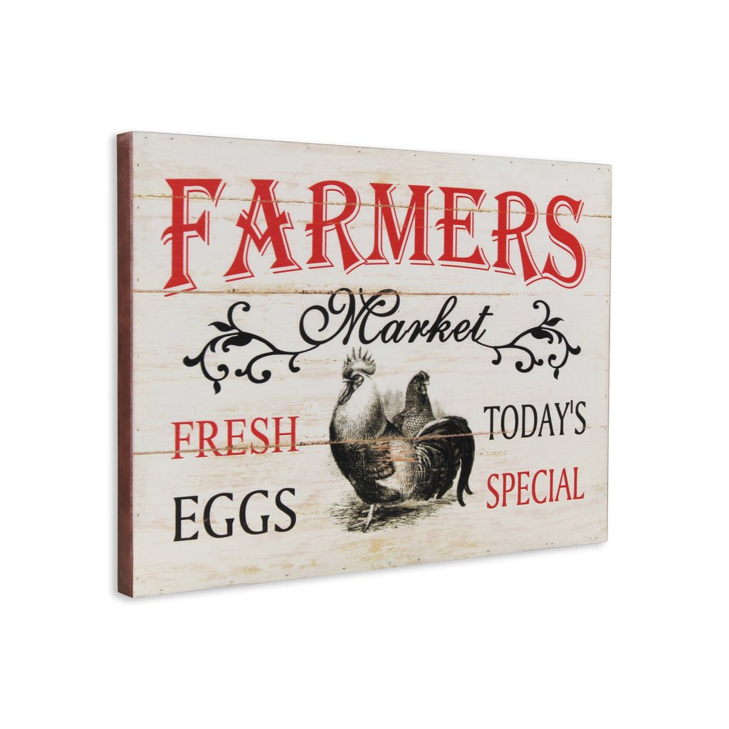 Farmers market wall plaque - Annelisse's
