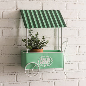 Fresh Herbs Hanging Wall Cart, available 1/20/21--preorder - Annelisse's