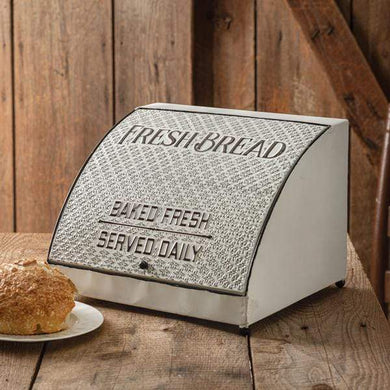 Antique Metal Bread Box (Restock date: 3/17/21) - Annelisse's
