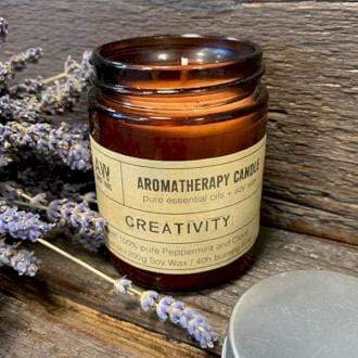 Aromatherapy Candle--Creativity - Annelisse's
