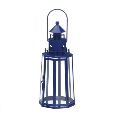 blue lighthouse lantern - Annelisse's